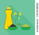 vector design of mustard and...   Shutterstock .eps vector #1419438083