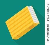 vector illustration of diary ... | Shutterstock .eps vector #1419438143