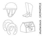 vector illustration of... | Shutterstock .eps vector #1419445913