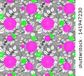 Seamless Pattern With Drawing...