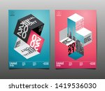 annual report 2020  2021 ... | Shutterstock .eps vector #1419536030