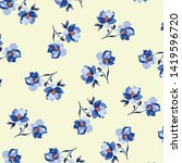 fashionable pattern in small... | Shutterstock .eps vector #1419596720