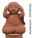 Earthenware Of Child Monk...