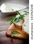 Fresh Bread With Olive Oil And...