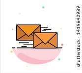 mail  reply  forward  business  ...   Shutterstock .eps vector #1419642989