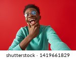 waist up portrait of... | Shutterstock . vector #1419661829
