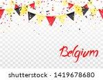Seamless Pattern Of Belgium...