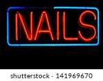 neon signs and symbols isolated ... | Shutterstock . vector #141969670