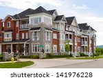 attractive apartment building | Shutterstock . vector #141976228