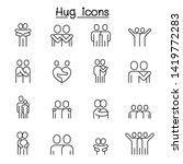 lover  hug  friendship ... | Shutterstock .eps vector #1419772283