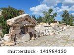 greater propylaiain pediment ... | Shutterstock . vector #141984130