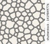vector seamless pattern. modern ... | Shutterstock .eps vector #1419849776