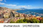 Panoramic View Of Naples City ...