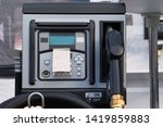 petrol station pump. gas... | Shutterstock . vector #1419859883