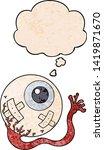 cartoon injured eyeball with...   Shutterstock .eps vector #1419871670