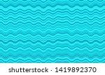 vintage wavy stripes background.... | Shutterstock .eps vector #1419892370