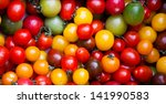 Different Colorful Cherry...