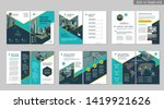 brochure creative design.... | Shutterstock .eps vector #1419921626