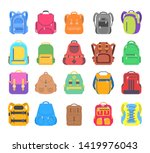 Big Set School Backpack  Sport...