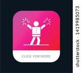 cheerleader  cheerleading ... | Shutterstock .eps vector #1419985073