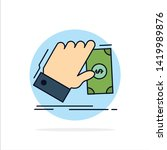 business  hand  money  earn ... | Shutterstock .eps vector #1419989876