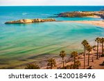 view of the mediterranean sea....   Shutterstock . vector #1420018496
