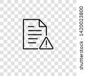 file icon from  collection for... | Shutterstock .eps vector #1420023800