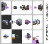 minimal brochure templates with ...   Shutterstock .eps vector #1420073000