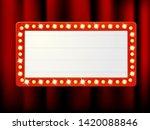 vector label frames of empty... | Shutterstock .eps vector #1420088846