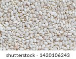 close up of raw sesame seeds... | Shutterstock . vector #1420106243