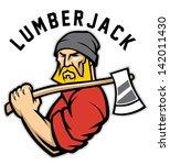 lumberjack   Shutterstock .eps vector #142011430