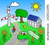 vector illustration of an... | Shutterstock .eps vector #142012390