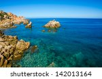 beautiful coast sardinia   italy | Shutterstock . vector #142013164