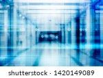 abstract defocused blurred... | Shutterstock . vector #1420149089