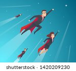 business concept characters.... | Shutterstock .eps vector #1420209230