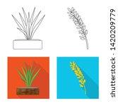vector design of crop and... | Shutterstock .eps vector #1420209779