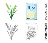 vector design of crop and... | Shutterstock .eps vector #1420212266