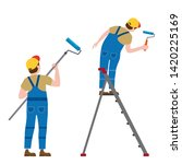 set painter proffessional... | Shutterstock .eps vector #1420225169