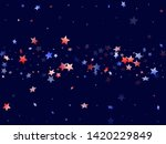 american patriot day stars... | Shutterstock .eps vector #1420229849