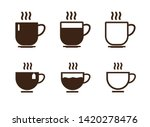 coffee cup icon. vector...