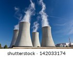 Cooling Tower Of Nuclear Power...
