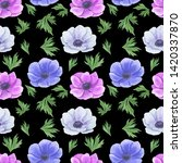 seamless pattern with... | Shutterstock . vector #1420337870
