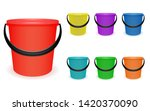 a set of multi colored... | Shutterstock .eps vector #1420370090