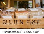 gluten free loaf of breads on...