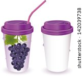grapes juice vector easy to use ...   Shutterstock .eps vector #142039738