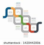 infographic design template...   Shutterstock .eps vector #1420442006
