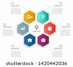 infographic design template...   Shutterstock .eps vector #1420442036