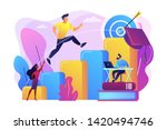 goal achievement  career... | Shutterstock .eps vector #1420494746