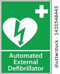automatic external... | Shutterstock .eps vector #1420548443