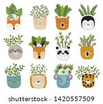 vector collection of cute house ...   Shutterstock .eps vector #1420557509